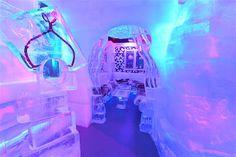 bar de gelo Minus5 no Hotel Hilton, em Nova York.