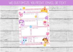 Kid first birthday time capsule featuring cute kittens and dogs! We customize the age, name and questions - all you do is print! #birthdaytimecapsule #adoptapetbirthday #dogbirthdaytheme #kittenbirthdaytheme #kidbirthdayparty #kidbirthdaypartyideas #girlbirthdayparty #girlbirthdaypartyideas Kids Birthday Party Invitations, First Birthday Parties, Birthday Wishes, First Birthdays, Puppy Birthday, Animal Birthday, Time Capsule Birthday, Great Memories, Kittens