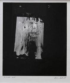 AARON SISKIND (1903-1991). New York. via Klenoder. Click on the image to see more!