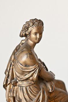19th C. Bronze/Marble Statue