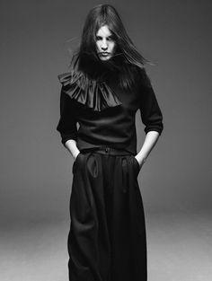 By Inez van Lamsweerde & Vinoodh Matadin for Vogue Paris August 2015 - Giorgio Armani