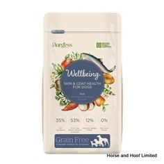 Burgess Wellbeing Skin Coat Health Fish Dog Food 10kg Burgess Wellbeing Skin Coat Health Fish is made using the highest quality ingredients to help support all the nutritonal needs of your pets.