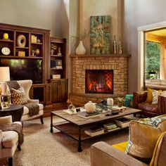Wonderful Fireplace