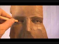 sculpture du visage