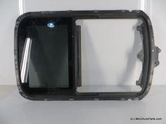 2002-2006 Mini Cooper Sunroof Frame and Rear Glass 25 54107039715 R50 R53