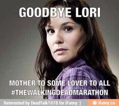 "RIP   Lori Grimes   S3E4 ""Killer Within""   The Walking Dead (AMC)"
