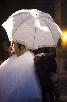 Wedding umbrella!