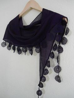 Very Special Fashion Lace Shawl with Trimming combines together!! Very beautiful! It's unique design….  It's a fashionable Shawl either at a chic restaurants or cinema.  This would make the perfect gift for any occasion...  in a smoke-free, pet-free home. Never been worn.  This item will be packaged with lots of love and care and shipped theree day after payment received.