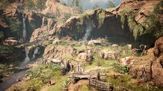 Far Cry Primal Review   Far Cry Primal is a case study in how a game's setting can drive its every layer from the tone of its story to the dangers of its world to the brutality of its combat.  That setting is the Stone Age. It's 10000 BC and our protagonist Takkar is searching for the lost members of his Wenja tribe. They're scattered across the Oros Valley a dense wilderness of forests swamps and frozen caves complete with mammoths and sabertooth tigers. As Takkar you'll build up a new…