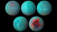 Bad Astronomy | New views of Saturn's ice moon Enceladus show fresh ice Interactive Globe, Saturns Moons, Global Map, Moon Surface, Thermal Energy, Look At The Moon, State Of Colorado, Under The Surface, University Of Arizona