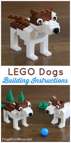 LEGO Dogs - Building Instructions