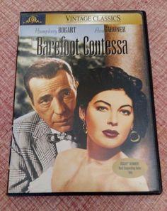 The Barefoot Contessa DVD Humphrey Bogart & Ava Gardner Vintage Classics Movie
