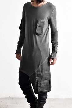 Army Of Me Multi Pocketed L/S & Coated Denim