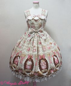 Angelic Pretty Sweet Cream Princessジャンパースカート
