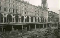 Nuova Via Roma in costruzione