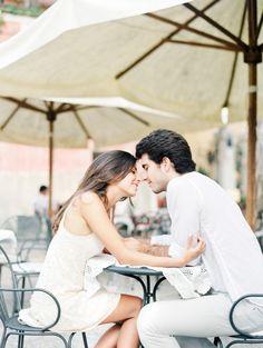 ℅ Squaresville Studios via Wedding Sparrow - Amalfi Coast Engagement
