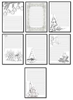 Kruschkiste: Weihnachtliche Schmuckrahmen
