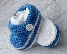 Zapatos de bebé de niño zapatos niño zapatos por DaisyNeedleWorks