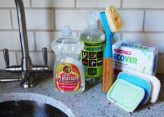 Clean Your Kitchen Simply and Safely with REAL ingredients
