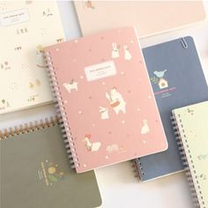 Piyo Spring Notebook & Planner. This website as SO much super cute stationary products. I want to buy everything.