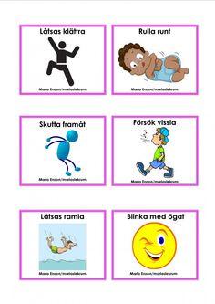 Mariaslekrum Kindergarten Teachers, Preschool Classroom, Preschool Crafts, Sign Language Book, Learn Swedish, Swedish Language, Educational Activities For Kids, Toddler Fun, Teaching