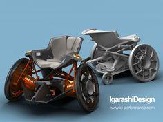Excellent wheelchair design