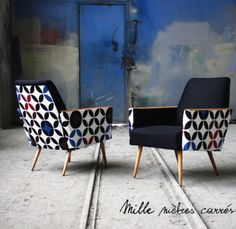 Deco Furniture, Funky Furniture, Unique Furniture, Furniture Makeover, Furniture Design, Funky Chairs, Vintage Chairs, Chair Upholstery, Furniture Inspiration