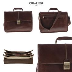 Chiarugi Firenze - #leather #leatherbags #business #men
