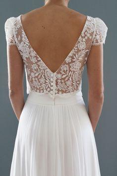 Mariage - Robes de mariée Olympe : Top Adèle