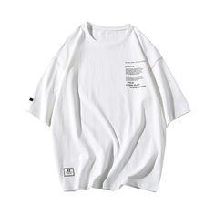 Men cotton t shirts 2019 Men Summer streetwear white T-shirt mens fashion brand clothing man oversize tshirt Male Tops & Tee Legging Outfits, Casual Winter Outfits, Outfit Winter, Outfit Summer, Oversized Shirt, Oversized Clothing, Men's Fashion Brands, Casual T Shirts, Streetwear
