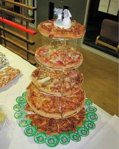 Pizza stack