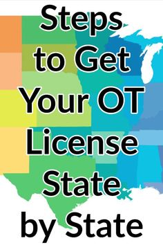 Looking to get your occupational therapy license or licenses? We've compiled every state's requirements here into one handy guide. Pinned from My OT Spot. Certified Occupational Therapy Assistant, Geriatric Occupational Therapy, Occupational Therapy Activities, Physical Education Games, Health Education, Physical Activities, Early Education, Childhood Education, Nbcot Exam