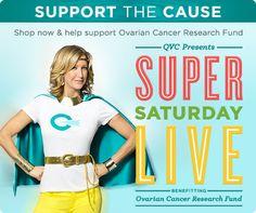 OVARIAN CANCER RESEARCH FUND  Super Saturday LIVE! Sneak Peek