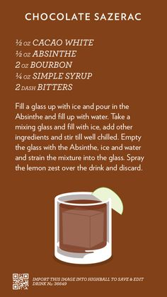 A whole bunch of cocktail recipes I've written down, in a tasty flashcard format. All of the recipes...