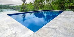 Silver Travertine pavers and tiles, enduring and timeless, are the perfect compliment to any home. Pool Coping, Coastal Landscaping, Pool Landscaping, Outdoor Paving, Pool Pavers, Home Modern, Modern Coastal, Coastal Style, Travertine Pavers