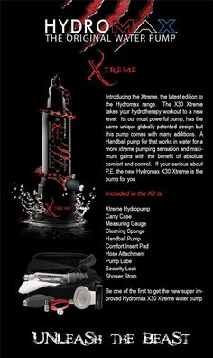 Bathmate has a new addition to hydro pump series. After the released of #Hydromax #X40, #Bathmate introduced the Bathmate Hydromax #Xtreme. Check the image to learn more what are goodies included in Xtreme package. This is a great choice for those who have exceeded their size for the previous models. Moreover, it has a new valve system, somewhat like a combination of Hercules and Hydromax valves.