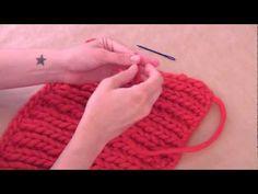 Tejer ¿Cómo rematar lana con la aguja lanera?- WE ARE KNITTERS, UE, 2013