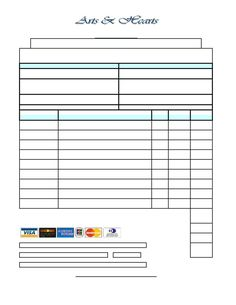 free printable order forms