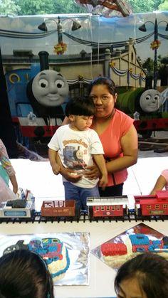 Decoración  Thomas train.