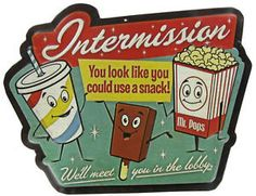 Drive in Theater Signs