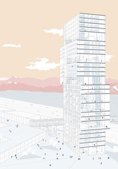 Vertical City | KooZA/rch  on WordPress.com #Architecture