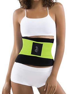 243b225dfcc Buy Sbelt Thermal Waist Trainer Slimming Belt – Women s Slimming Body  Shaper Trimmer for an Hourglass Shape