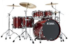Tama Starclassic Performer B/B 6 Piece Shell Kit With Tom Adapters - Red Mahogany - Long & McQuade Musical Instruments