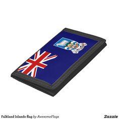 Falkland Islands flag Trifold Wallet