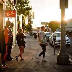 #losangeles #sunset on #melroseavenue by #leica #photographer #thorstenovergaard #leicam10 #noctilux