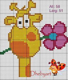 Comecei a me aventurar nos gráficos!   Espero que gostem das minhas criações!     Girafinha       Bob Zoom         Elefantinho!       Geor...