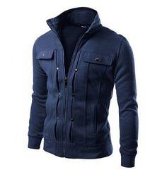 Brand Hoodies Men Sweatshirts Tracksuits Solid Fashion Mens Hoodie Zipper Design Tracksuit Men's Sportswear Winter