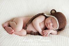 Monkey Hat Crochet Baby Hats