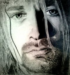 Kurt Cobain - pencil on paper