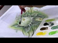Mulher.com 10/07/2014 - Crisantemo Pintura Tecido por Luis Moreira - Parte 2 - YouTube